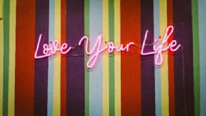 Love your life in colourful stripes